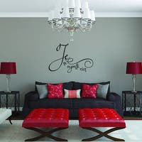 Style and Apply Je ne regrette rien Vinyl Wall Decal