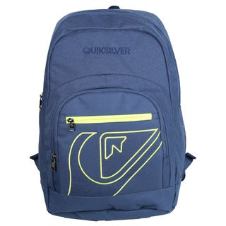 Quiksilver Schoolie Dark Denim 15-inch Laptop Day Pack Backpack