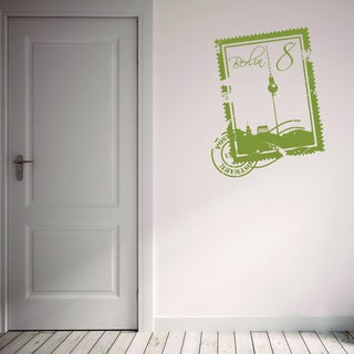 Style and Apply Berlin Stamp Vinyl Wall Decal