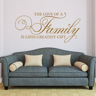 Link to Style and Apply Family-themed Vinyl Wall Decal Similar Items in Vinyl Wall Art