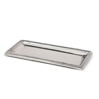 Vanderpump Beverly Hills Anastasia Silver Metal Tray