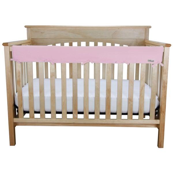 Trend Lab CribWrap Medium Pink Jersey Rail Cover
