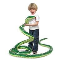 Melissa & Doug Plush Snake - Green