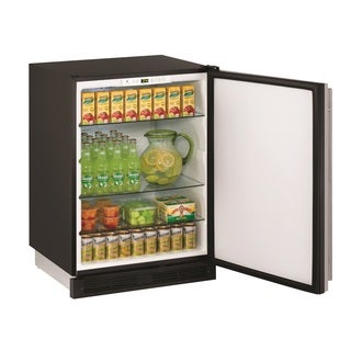 U-Line 1000 Series 1224 - 24 Inch Stainless Steel Refrigerator