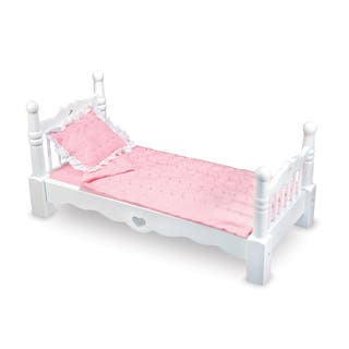 Melissa & Doug Wooden Doll Bed https://ak1.ostkcdn.com/images/products/12071105/P18938830.jpg?impolicy=medium