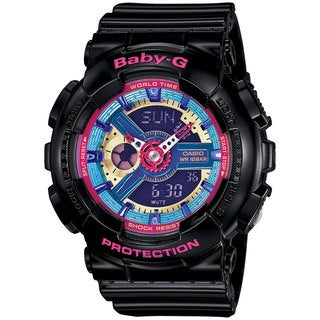 Casio Women's BA112-1A Baby-G Blue Watch