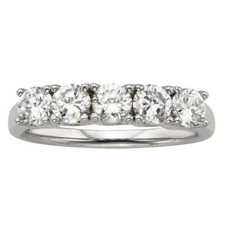 H Star Sterling Silver Diamagem Ring