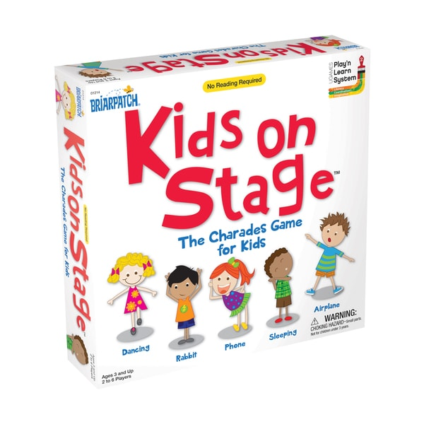 Briarpatch Kids On Stage Board Game