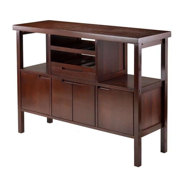 Winsome Wooden Diego Buffet 2-shelf Sideboard Table and Drawer