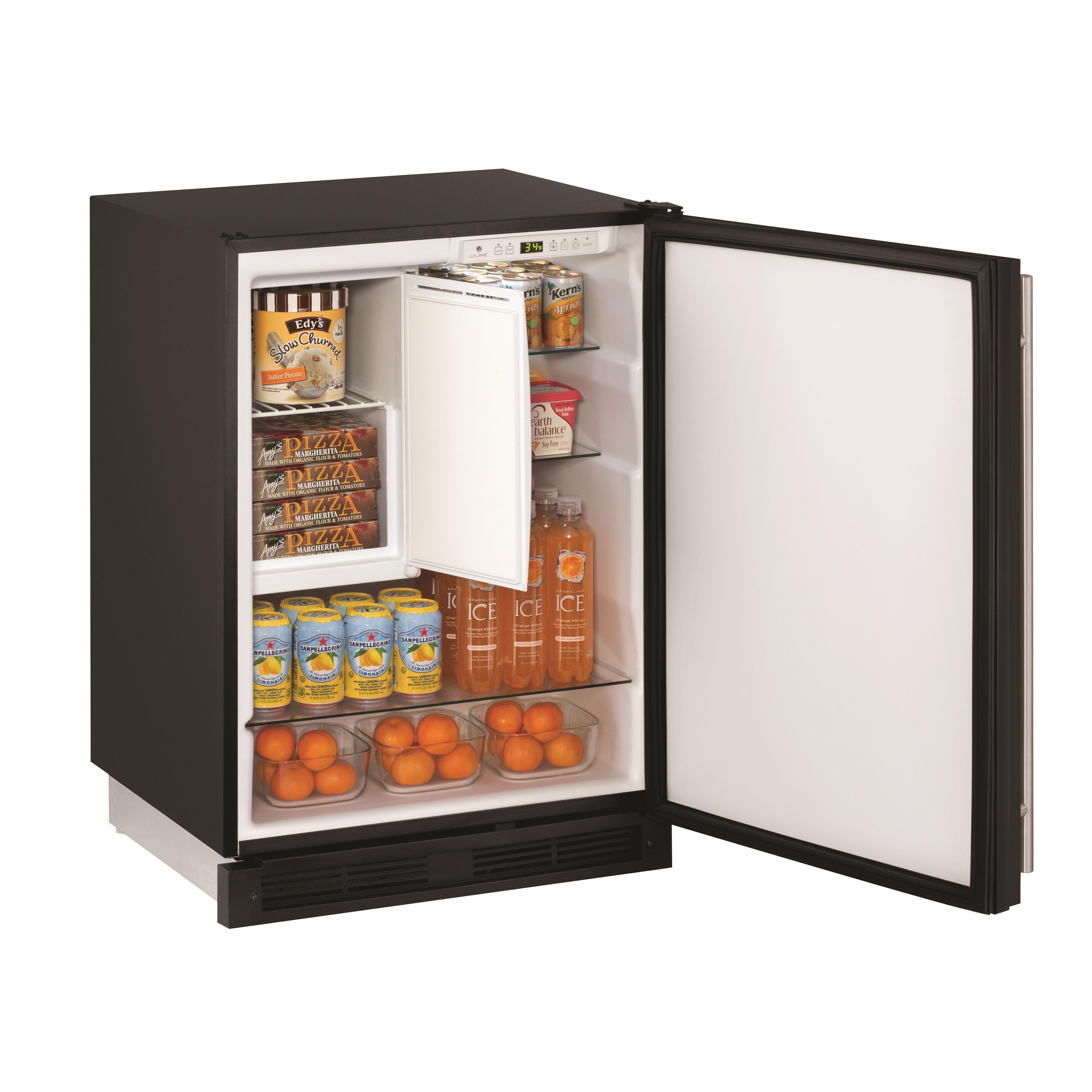 U-Line 1000 Series 1224 - 24 Inch Refrigerator/Freezer Co...
