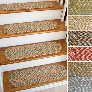 Cozy Cove Reversible Stair Treads (Set of 4) (1'10 x 2'10)
