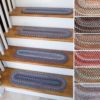 Augusta Wool Reversible Stair Treads (Set of 4)