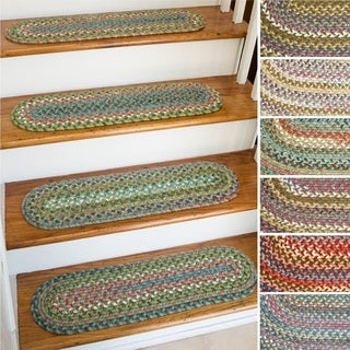 Charisma Reversible Stair Treads (Set of 4) - 1'10 x 2'10