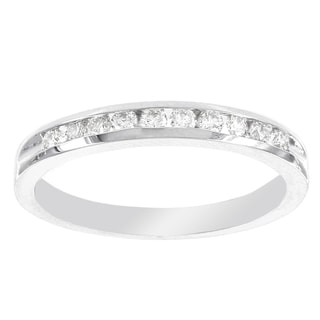 H Star 10k White Gold 1/2ct Diamond Ring (I-J, I2-I3)