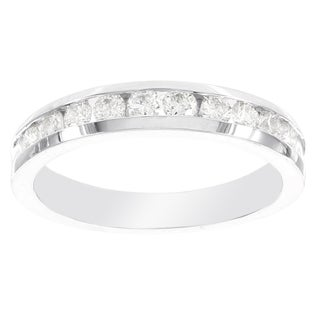 H Star 14k White Gold 1ct Diamond Ring (I-J, I2-I3)