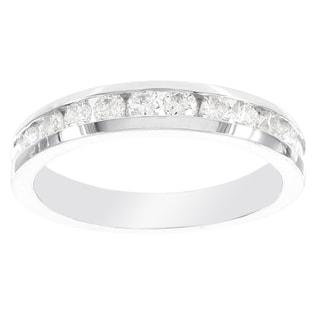 H Star 14k White Gold 1ct Diamond Ring (I-J, I2-I3)