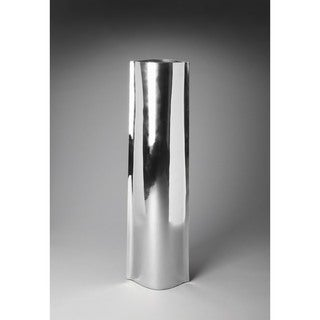 Butler Daphne Silver Aluminum 4-foot Modern Floor Vase