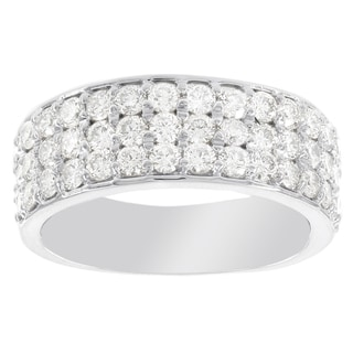 H Star 14k White Gold 1 5/8ct Diamond Ring (I-J, I2-I3)