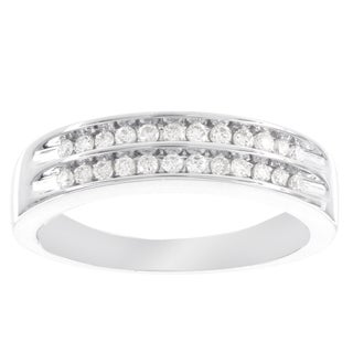 H Star 10k White Gold 1/4ct Diamond Ring (I-J, I2-I3)