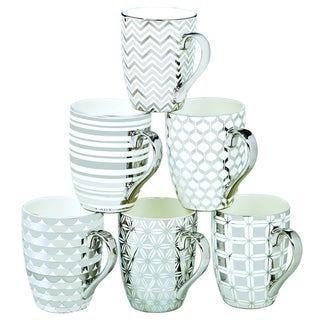 Certified International Elegance Silver-plated Tapered Mugs with Assorted Designs (Pack of 6)|https://ak1.ostkcdn.com/images/products/12071257/P18938941.jpg?_ostk_perf_=percv&impolicy=medium