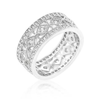 Kate Bissett Simple Classic Cubic Zirconia Band