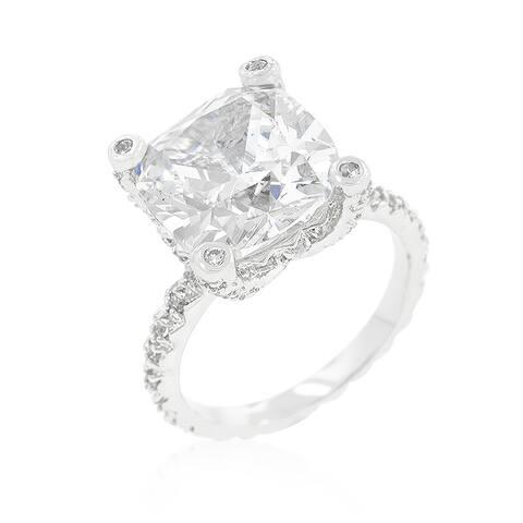Kate Bissett Brilliant Engagement Ring - White