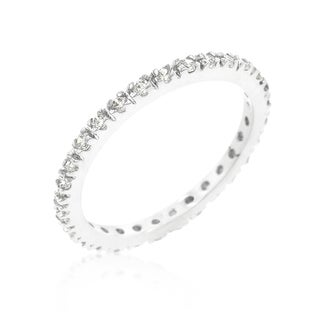 Kate Bissett Simple Eternity Band - White