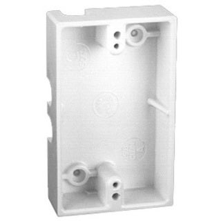 Thomas & Betts 5060-WH White Single Gang Boxes
