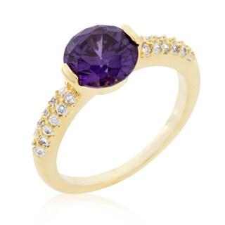 Kate Bissett Purple Isabelle Engagement Ring