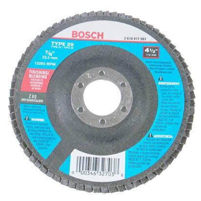 Bosch FD2945060 Finishing & Blending Flap Disc