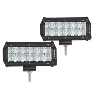 7-inch 36-watt Cree Spot Beam Off-road Truck LED Light Bars with 5D Projector Lens (Set of 2)