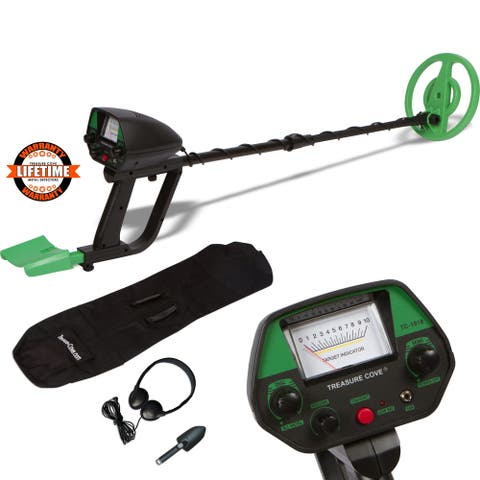 Metal Detector Fast Action TC-1018 with Pinpointer Function Waterproof Coil