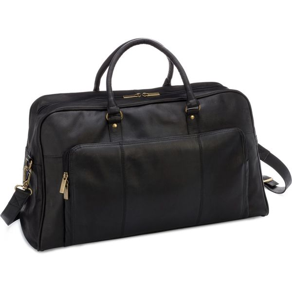 le donne leather 20 inch carry on frontier duffel bag