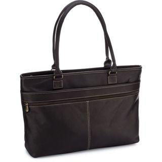 Le Donne Leather Fauna Executive Laptop Tote Bag
