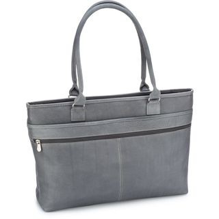 Le Donne Leather Fauna Executive Laptop Tote Bag