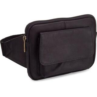 LeDonne Leather Tan/Black/Brown Leather Journey Waist Bag (3 options available)