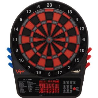 Viper 800 Regulation 15.5-inch Electronic Soft Tip Dartboard - Black