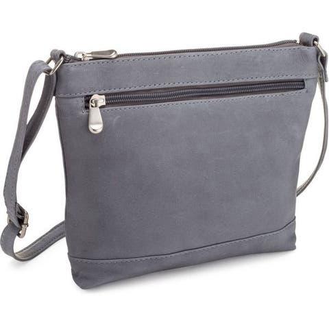 LeDonne Leather Savanna Crossbody Handbag