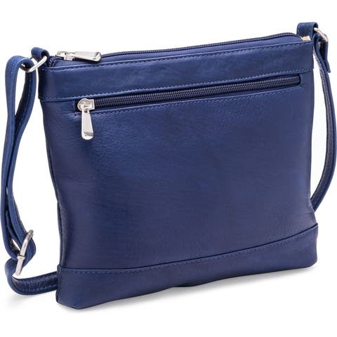 438083aabee8 Buy Blue Leather Bags Online at Overstock | Our Best Shop By Style Deals