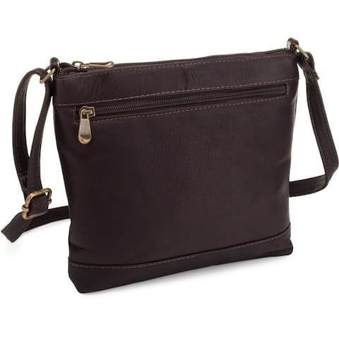 LeDonne Leather Savanna Crossbody Handbag