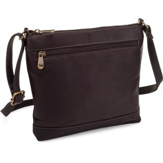 Le Donne Leather Savanna Crossbody Handbag