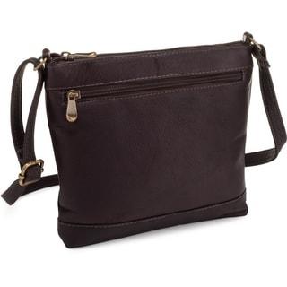 Le Donne Leather Savanna Crossbody Handbag
