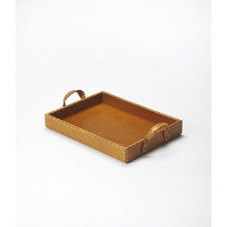 Butler Leather Serving Tray