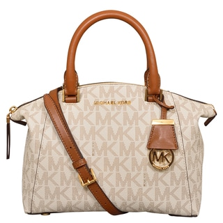 Michael Kors Small Riley Vanilla Satchel Handbag