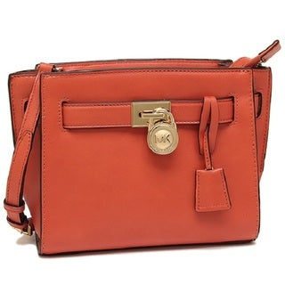 Michael Kors Hamilton Orange Travel Crossbody Handbag