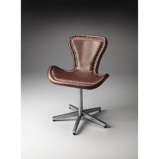 Butler Midway Aviator Black/Brown Accent Chair