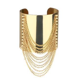 Saachi Chain Cuff Bracelet (China)