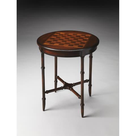 Handmade Butler Somerset Plantation Cherry Game Table (China)