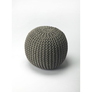 Link to Handmade Butler Pincushion Gray Woven Pouf (India) Similar Items in Travel Accessories