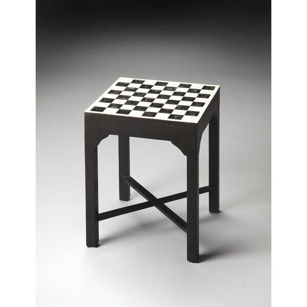 Butler Bishop Bone Inlay Bunching Chess Table